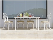Table Rectangulaire Carlat Avec Une Allonge -